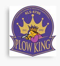 Plow King  Canvas Print