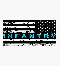 Army Infantry Blue Photographic Print