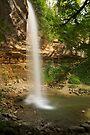 Saut Girard waterfall on Herisson river by Patrick Morand