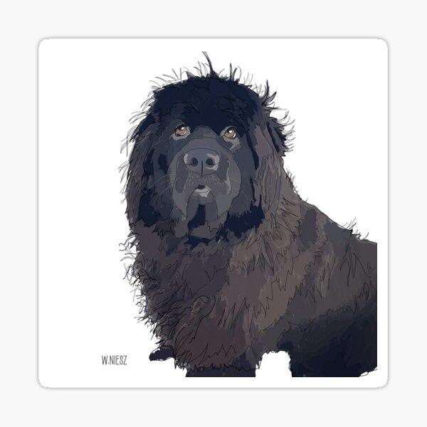 Newfoundland Dog Sticker