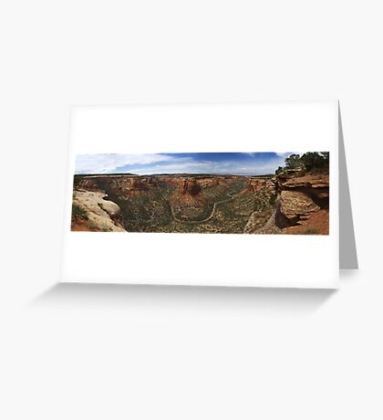 Ute Canyon, Colorado National Monument Greeting Card