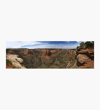 Ute Canyon, Colorado National Monument Photographic Print