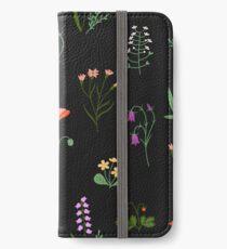 Wildflowers Pattern iPhone Wallet/Case/Skin