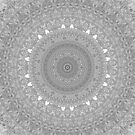BAMF Mandala Black and white by Jacob Thomas