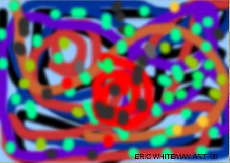 (MAZE) ERIC WHITEMAN ART by eric  whiteman
