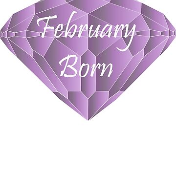 February Born Amethyst Birthday Gifts by MellowSphere