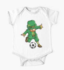 Leprechaun Soccer T Shirt St Patricks Day Sports Funny Gift One Piece - Short Sleeve