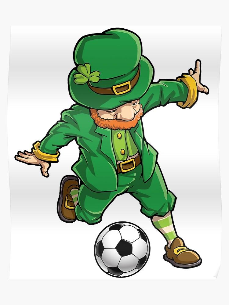 4a0e2808a Leprechaun Soccer T Shirt St Patricks Day Sports Funny Gift