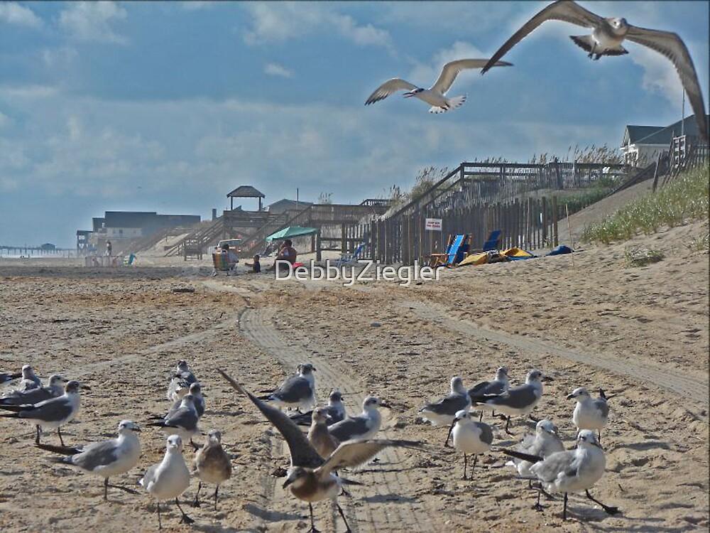 On the beach. . . . by DebbyZiegler