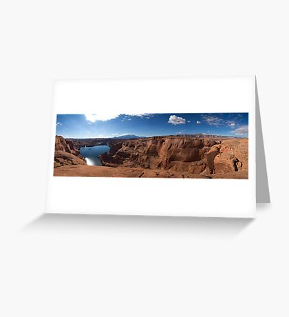 At the End of Hole-in-the-Rock Road. Utah Greeting Card