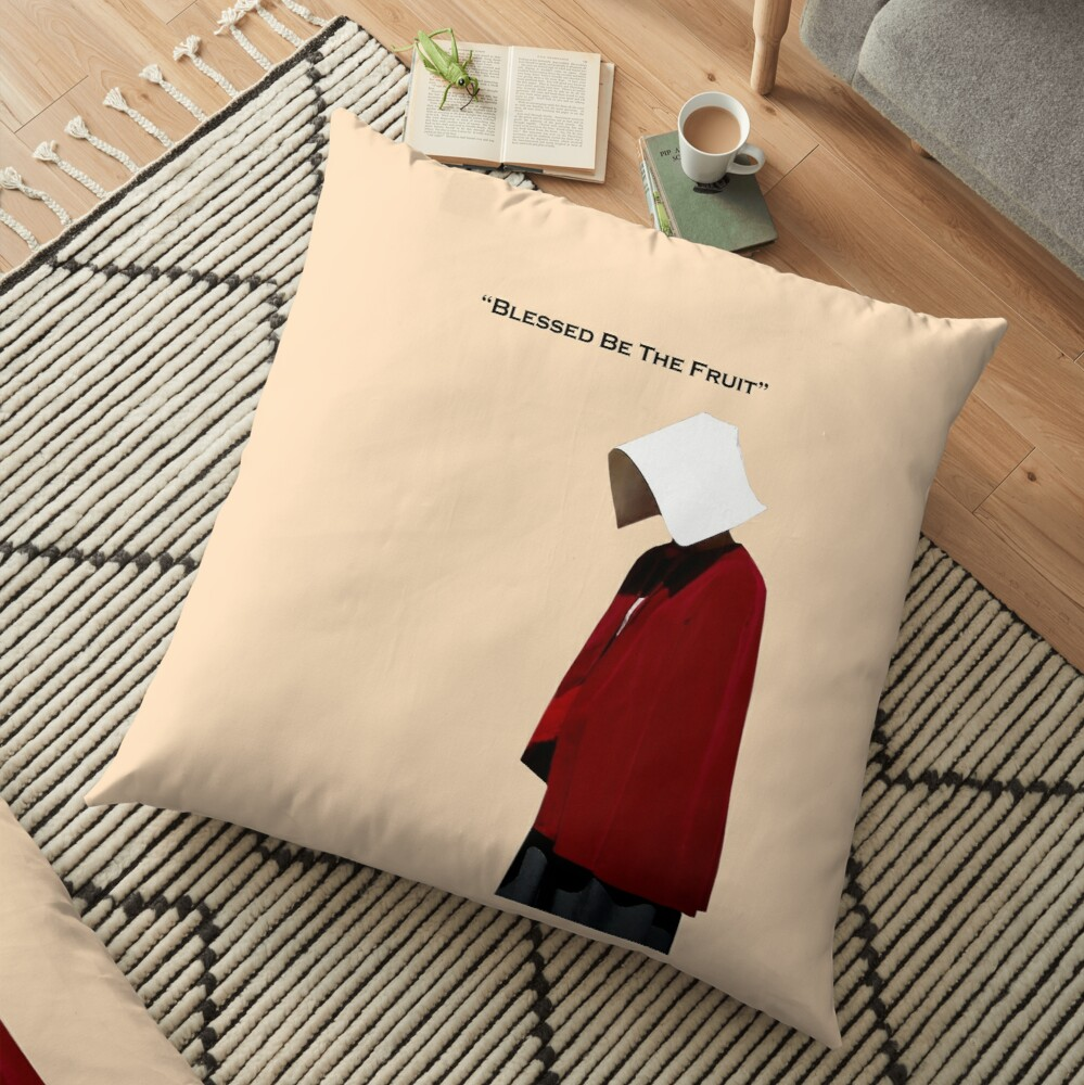 Handmaids Tale Floor Pillow