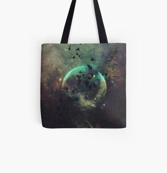 byrd wyrld All Over Print Tote Bag