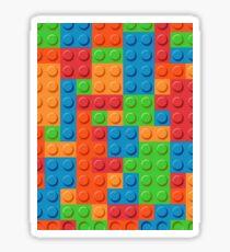 COLOR BLOCKS! Sticker