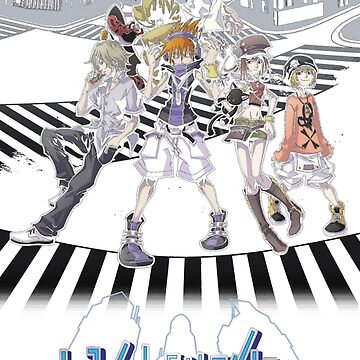 TWEWY Cover Art by chaosangelzone