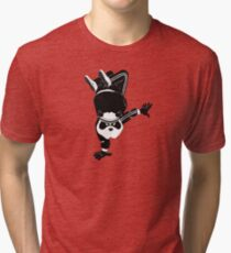 Breakdancin' Panda Tri-blend T-Shirt