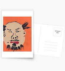 Portrait inspiré de Ai Weiwei - Martin Boisvert - Faces à flaques Postcards