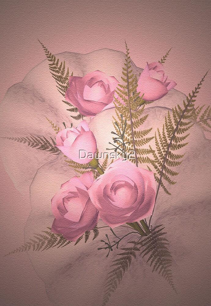 Ferns 'n' Roses by Dawnsky2