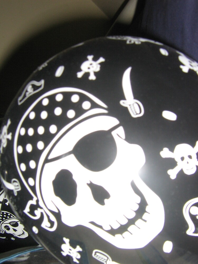 pirate balloon by Colby  Gregory