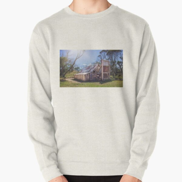 Wallace's Hut - Falls Creek Pullover Sweatshirt