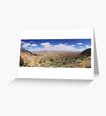50 Mile View Greeting Card