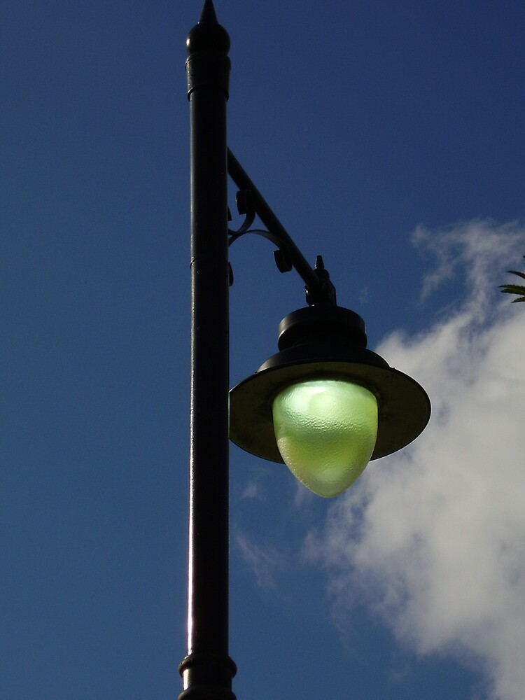Green Lamp by tonymm6491
