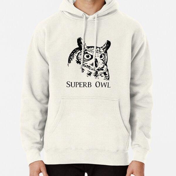 Superb Owl Football Pullover Hoodie