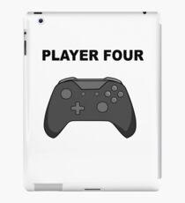Player Four - Xbox iPad Case/Skin