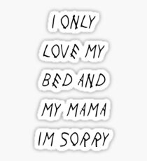 Scary Hour Lyrics Stickers Redbubble