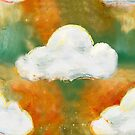 Sket-Chi Clouds (gold) by pollyalice