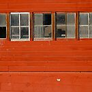 Red Barn  by Pamela Hubbard