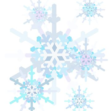 Dainty Snowflakes by MelissaB
