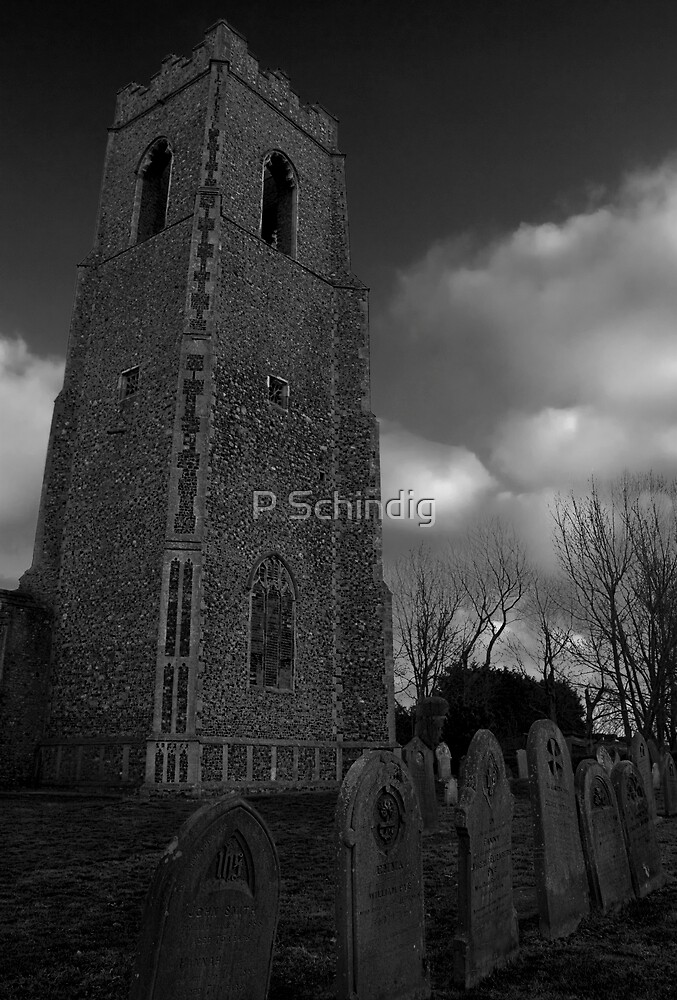Spooky Church by P Schindig