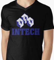 Initech Funny Geek Nerd Men's V-Neck T-Shirt