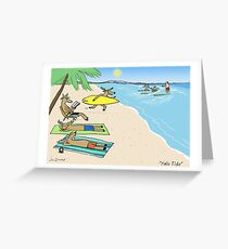 Yule Tide Christmas Holiday Greeting Card