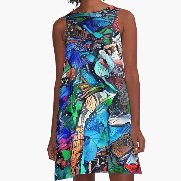 Bob Weir 5 A-Line Dress