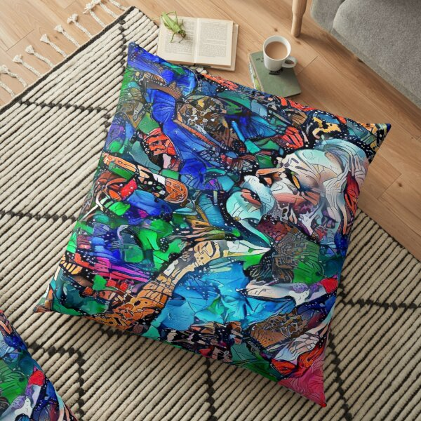 Bob Weir 5 Floor Pillow