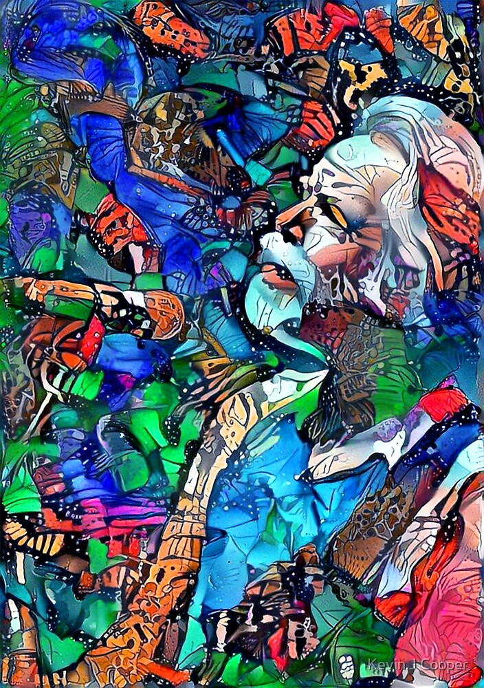 Bob Weir 5 by Kevin J Cooper
