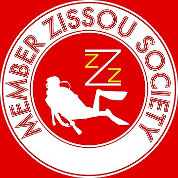 Member Zissou Society (White) by Genz