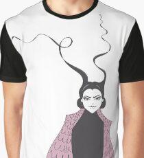 Snake Woman Graphic T-Shirt