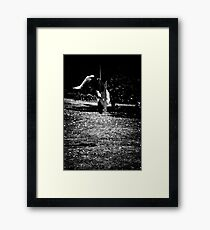 Head over heels for you Framed Print