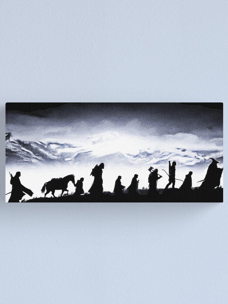 Alternate view of The Fellowship Canvas Print