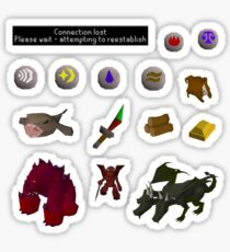 Oldschool Runescape Stickers Sticker