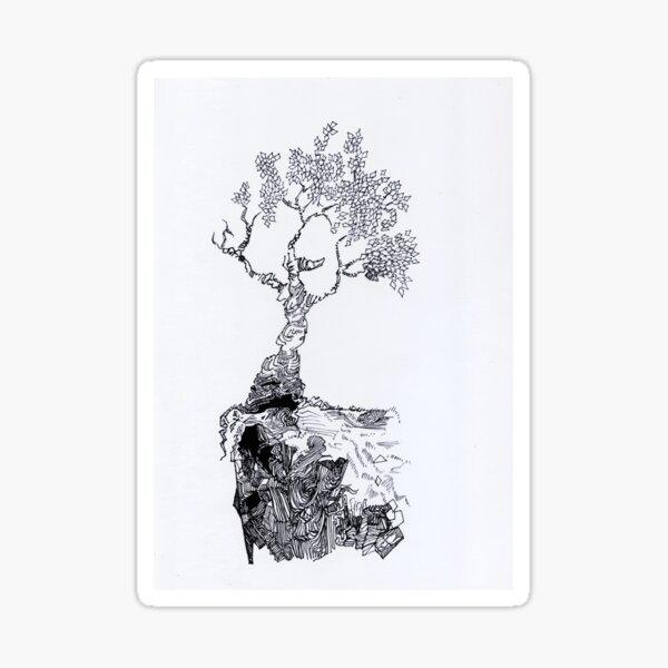 Toppi Tree Sticker