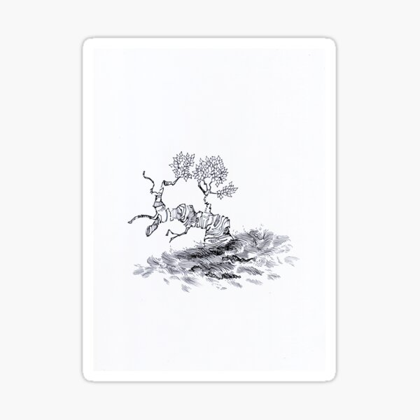 Toppi Tree 2 Sticker