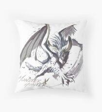 Monster Hunter World : Nergigante Throw Pillow