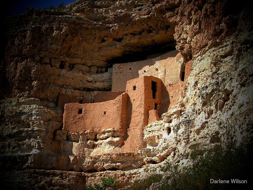 Montezuma Castle by Darlene Wilson