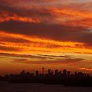 Sunset over Sydney, NSW, Australia  by Of Land & Ocean - Samantha Goode