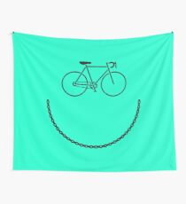 Bike Face! Funny Bicycle T-Shirt for Bike Riders, Cyclists Wall Tapestry