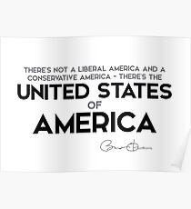 United States of America - Barack Obama Poster