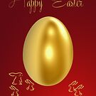 Easter Card by Catherine Hamilton-Veal  ©